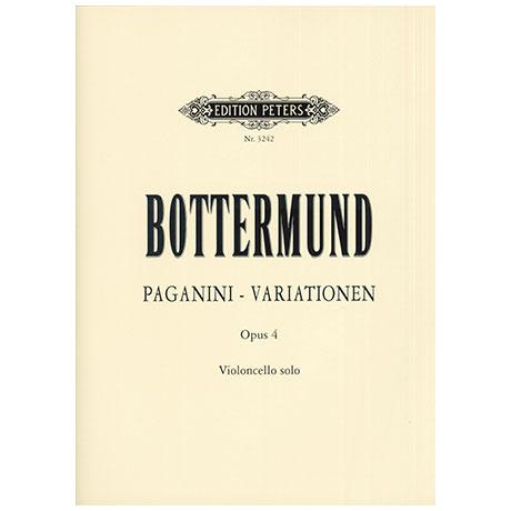 Bottermund, H.: Paganini-Variationen Op.4