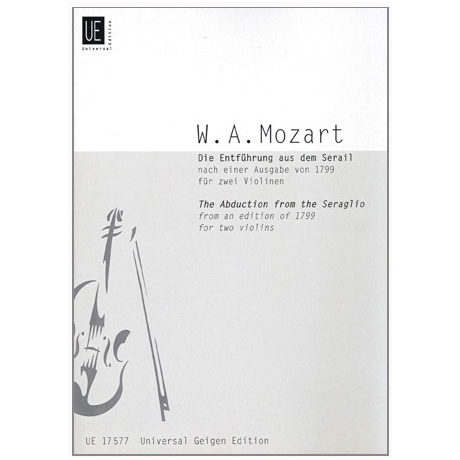 Mozart, W.A.: Die Entführung aus dem Serail KV384