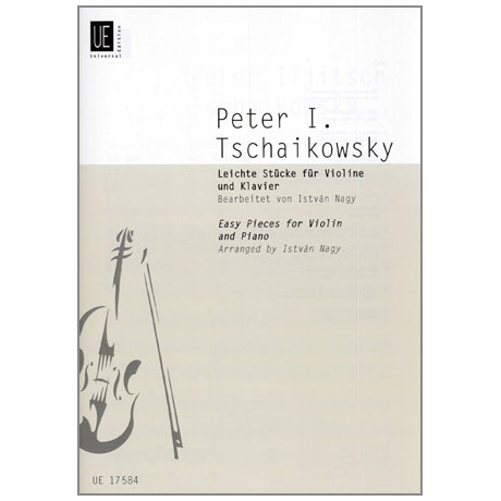 Tschaikowski, P. I.: Leichte Stücke