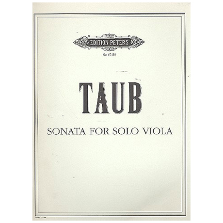 Taub, B.J.: Violasonate