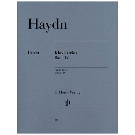 Haydn, J.: Klaviertrios Band 4, Hob XV: 18-26 Urtext