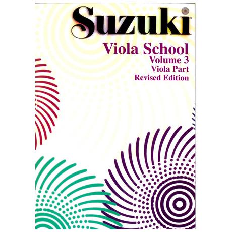 Suzuki Viola School Vol.3