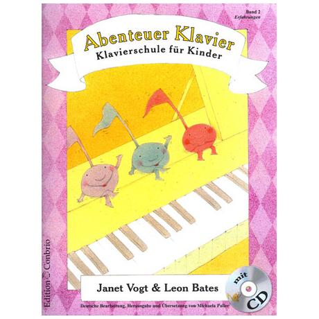 Vogt / Bates: Abenteuer Klavier Band 2 (+CD)