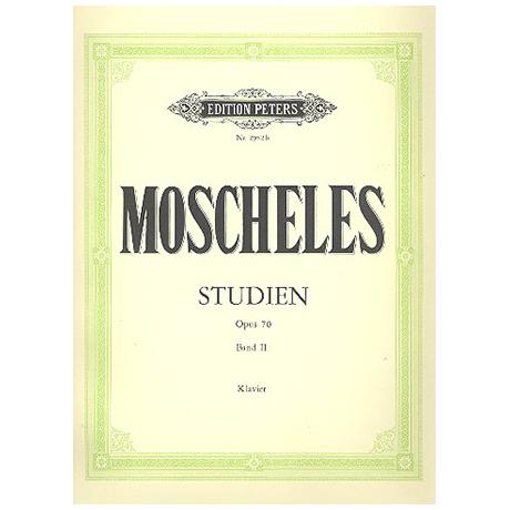 Moscheles: Studien zur höheren Vollendung op. 70 Band II