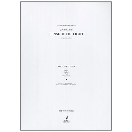 Hisaishi, J.: Vermeer & Escher, Sense of the Light – Streicherstimmen
