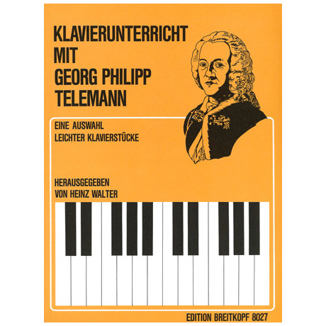 Telemann, G.Ph.: Leichte Klavierstücke