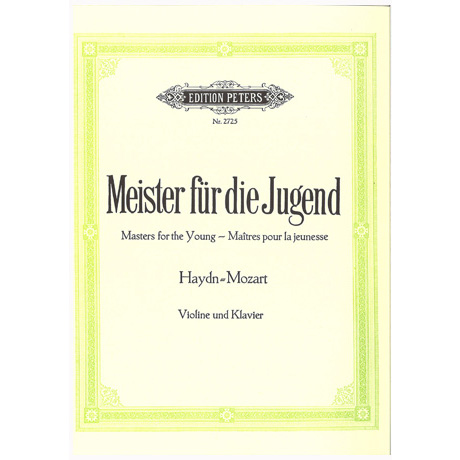 Meister für die Jugend Band 1 – Haydn + Mozart