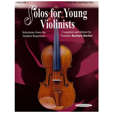 Solos for young Violinists Band 3