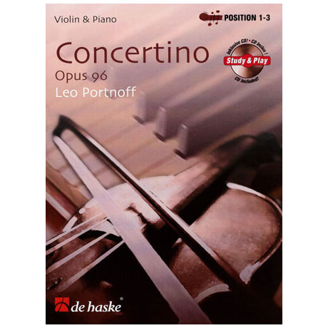Portnoff, L.: Concertino Op.96 (+CD)