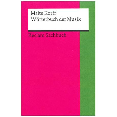 Kleines Wörterbuch der Musik (M. Korff)