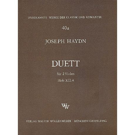 Haydn, J.: Duett Hob.XII:4