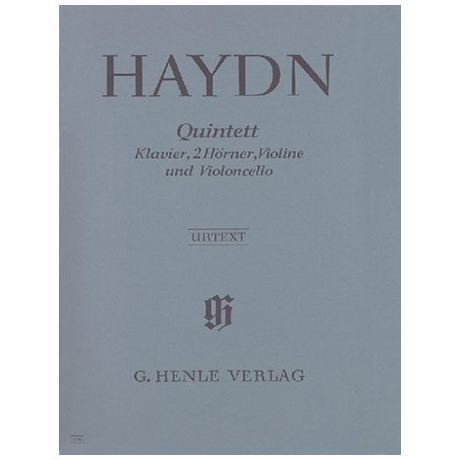 Haydn, J.: Quintett Es-Dur Hob XIV: 1 Urtext