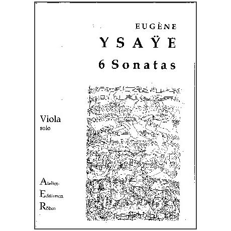 Ysaye, E.: 6 Sonaten für Violine solo