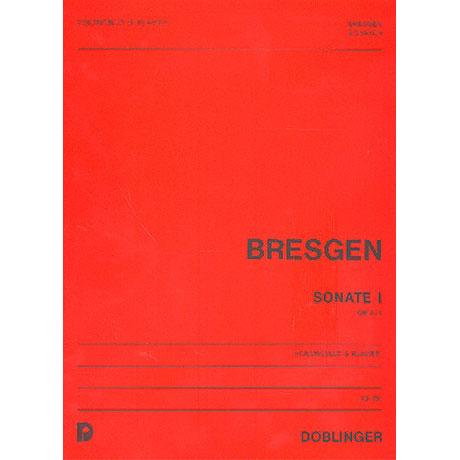 Bresgen, C.: Sonate 1 op. 8/1