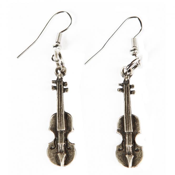 Ohrringe Violine
