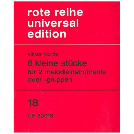 Korda, V.: 6 Stücke