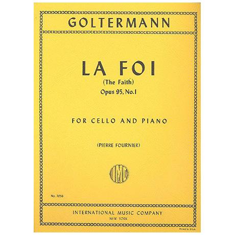 Goltermann, G.: La Foi op. 95 Nr. 1
