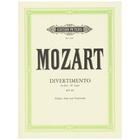 Mozart, W.A.: Divertimento Es-Dur, KV 563