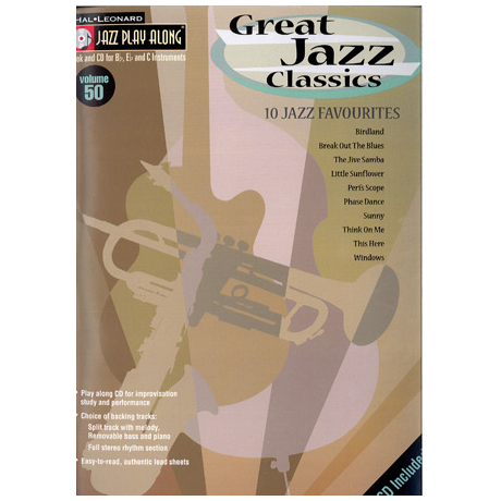 Great Jazz Classics (+CD)