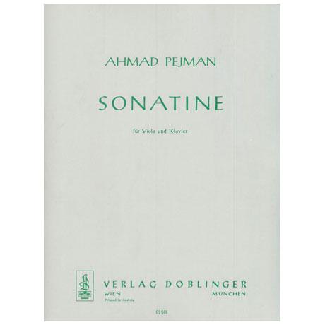 Pejman, A.: Sonatine
