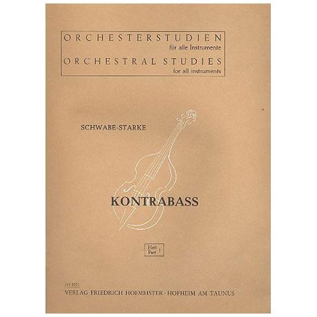 Schwabe; Starke: Orchesterstudien Band 1