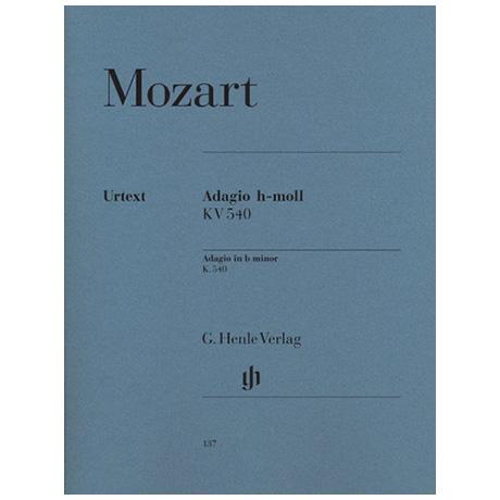 Mozart, W. A.: Adagio h-Moll KV 540