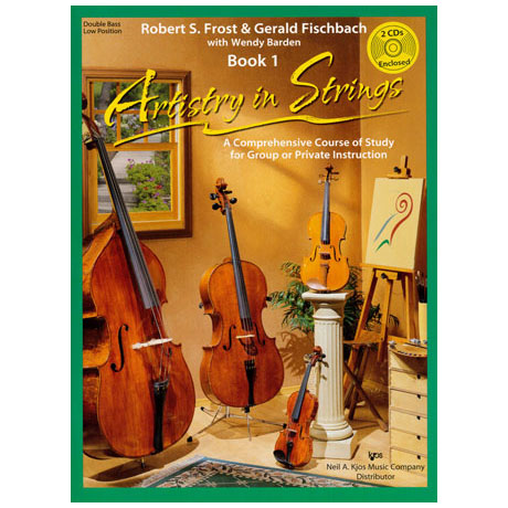Frost/Fischbach: Artistry in Strings Band 1 (+2CDs)