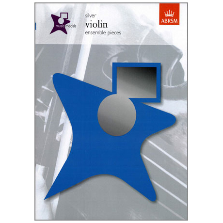 ABRSM Music Medals Violin Ensemble Pieces - Silver