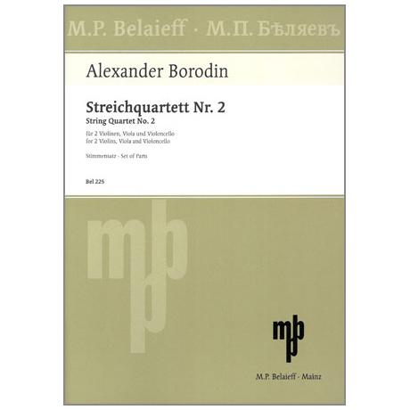 Borodin, A.: Streichquartett Nr. 2 D-Dur
