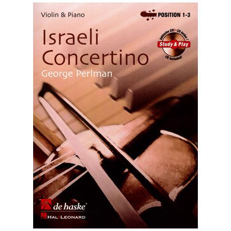 Perlman: Israeli Concertino (+CD)