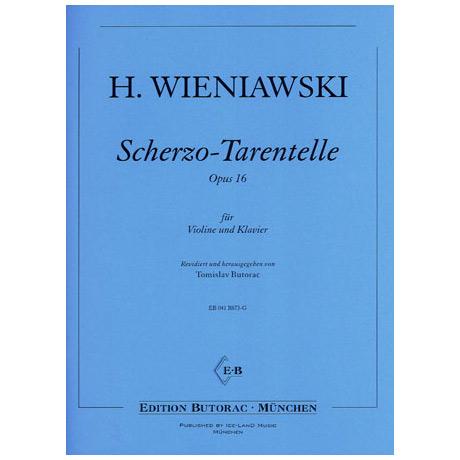 Wieniawski, H.: Scherzo-Tarantelle op. 16