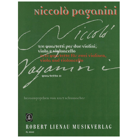 Paganini, N.: Quartett Nr.2