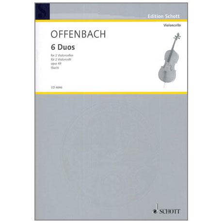 Offenbach, J.: 6 Duos Op.49