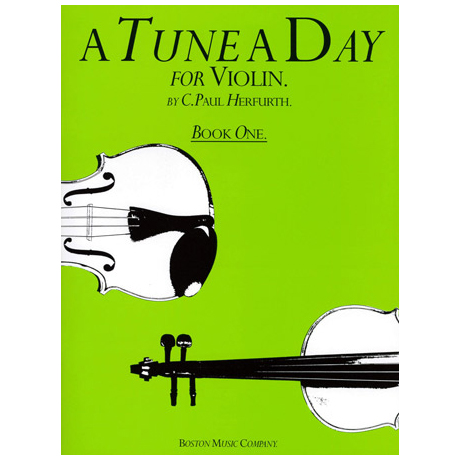 Herfurth, C.Paul: A Tune a day Vol.1