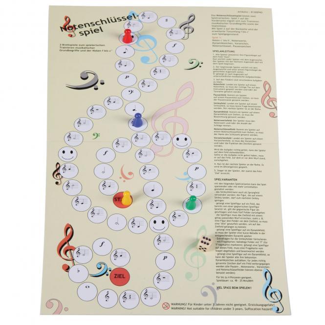 Notenschlüsselspiel