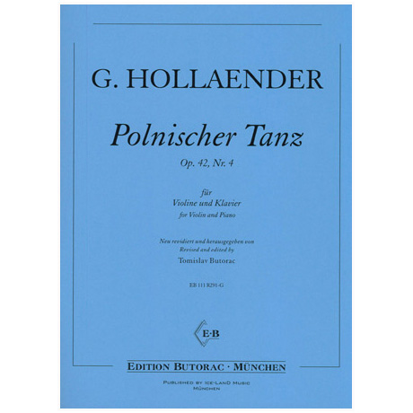 Hollaender, G.: Polnischer Tanz Op. 42 Nr. 4