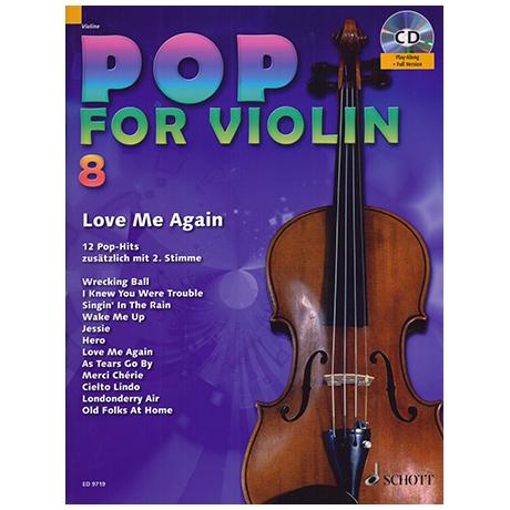 Pop for Violin Vol.8 (+CD)
