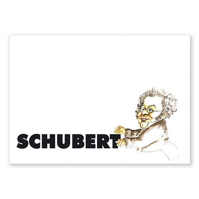 Postkarte Schubert