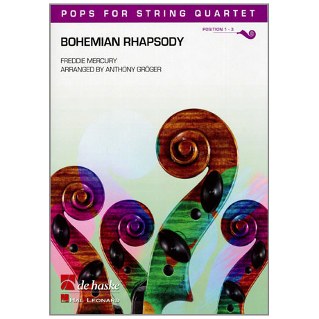 Pops for String Quartet - Freddie Mercury: Bohemian Rhapsody