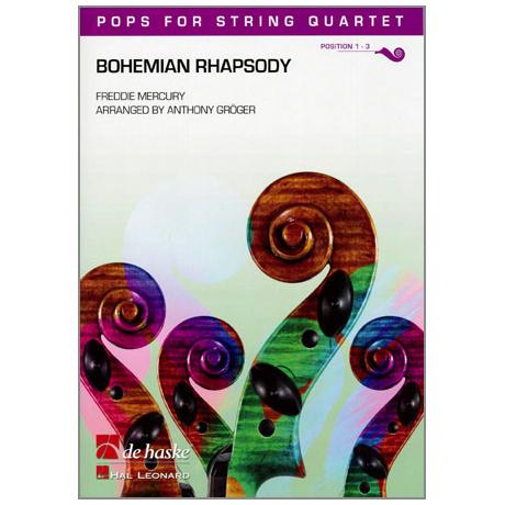 Pops for String Quartet - Freddie Mercury: Bohemian Rhapsody