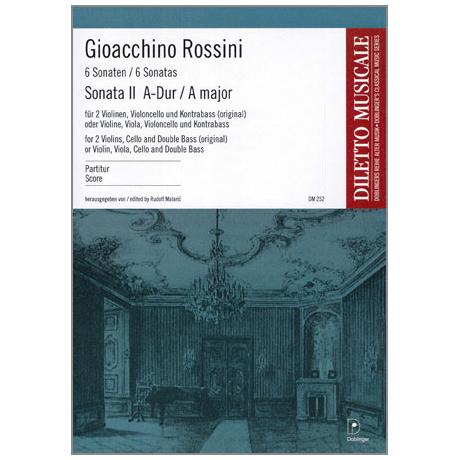 Rossini, G. A.: Violasonate Nr. 2 A-Dur