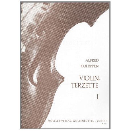 Koerppen, A.: Violinterzette Nr. 1