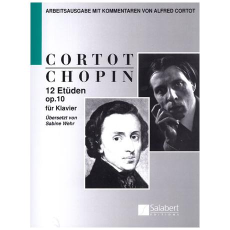 Chopin, F./Cortot, A.: 12 Etüden Op. 10