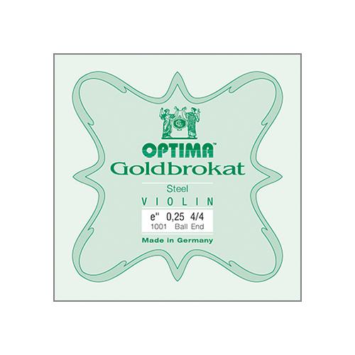 OPTIMA Goldbrokat Violinsaite E