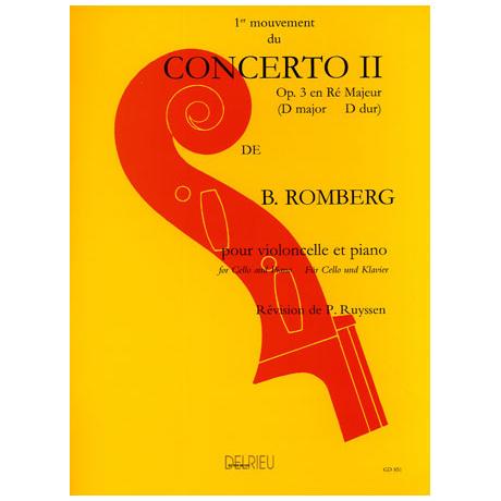 Romberg, B.: Konzert Op.3 Nr.2 D-Dur – 1. Satz