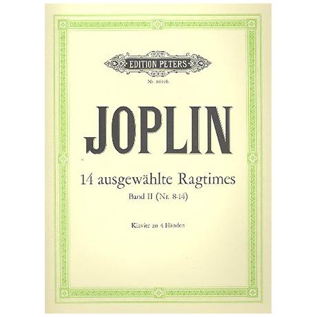 Joplin, Scott: 14 ausgewählte Ragtimes Band 2