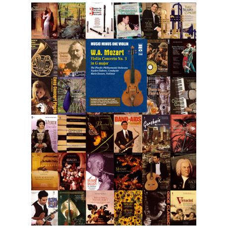 Mozart, W.A.: Violinkonzert Nr.3 G-Dur (+CD)