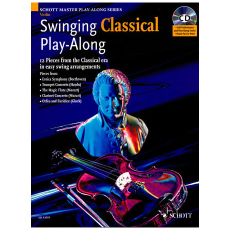 Swinging Classiqual Play-Along (+CD)