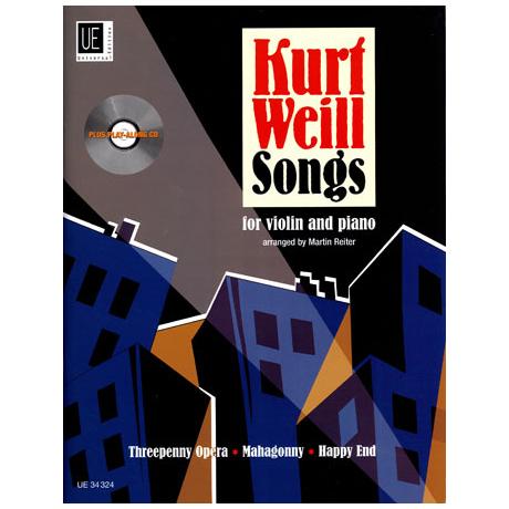 Weill, K.: Songs (+CD)