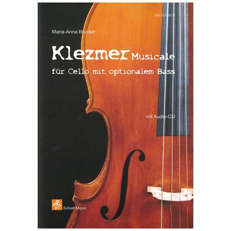 Brucker, M.-A.: Klezmer musicale (+CD)